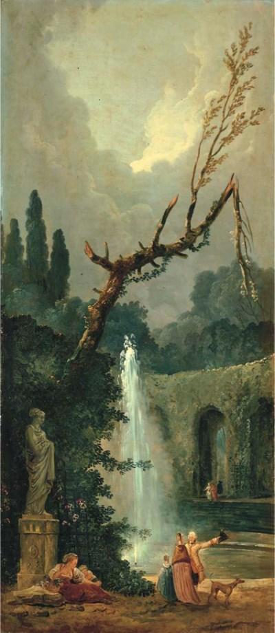 Studio of Hubert Robert (Paris