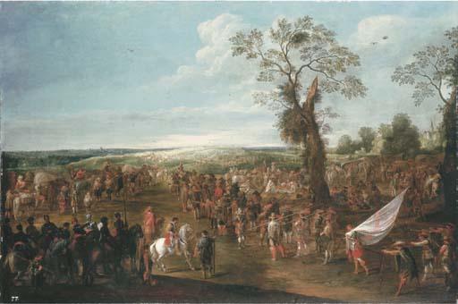 Cornelis de Wael (Antwerp 1592