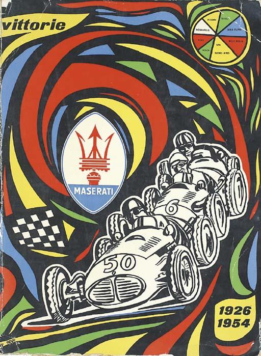 Vittorie Maserati 1923-1956 -