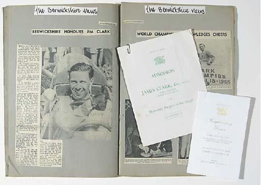 Jim Clark - A Scrapbook of pre