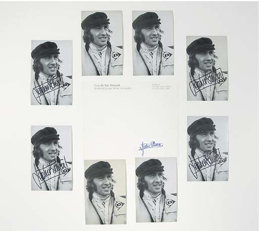 Jackie Stewart - A group of si