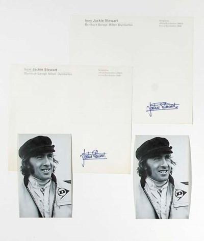 Jackie Stewart, Dumbuck Garage