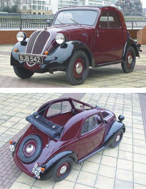 1938 fiat 500 topolino christie s rh christies com Fiat Topolino Gasser Fiat Topolino Drag Cars