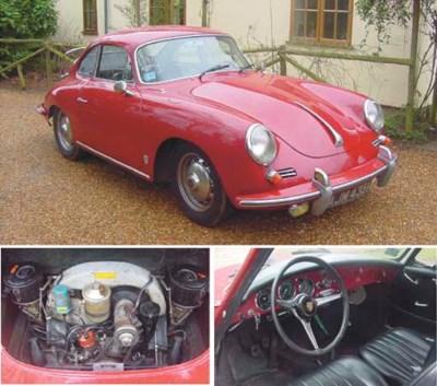 1962 PORSCHE 356B S COUPE