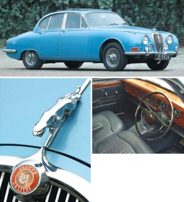1965 JAGUAR 3.4 'S'-TYPE SALOO