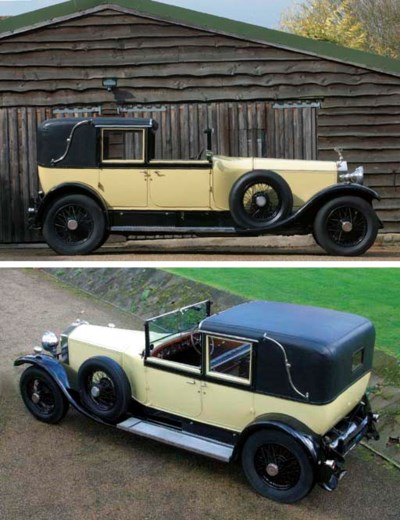 1925 ROLLS-ROYCE 40/50hp PHANT