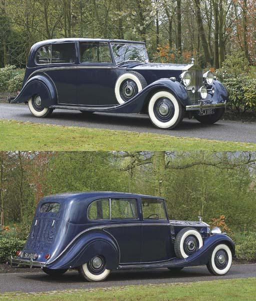 1938 ROLLS-ROYCE PHANTOM III S