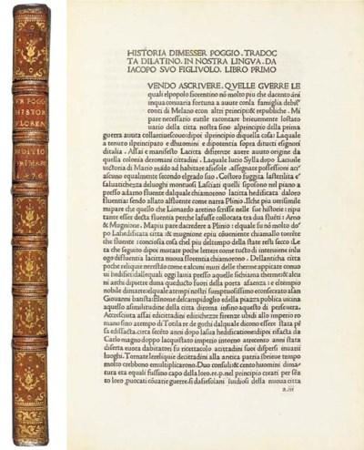 POGGIUS Florentinus (1380-1459