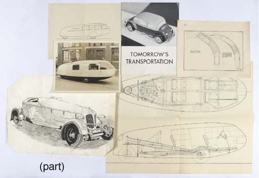 tomorrow 39 s transportation a 1930s folio of designs. Black Bedroom Furniture Sets. Home Design Ideas