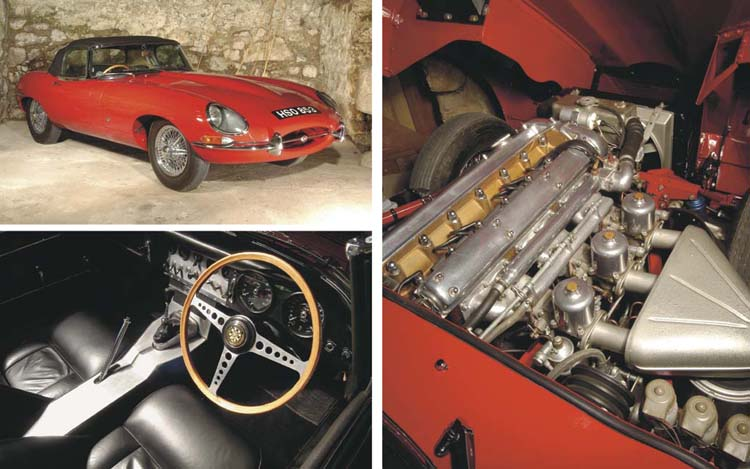 1961 JAGUAR E-TYPE SERIES 1 3.8 'FLAT FLOOR' ROADSTER