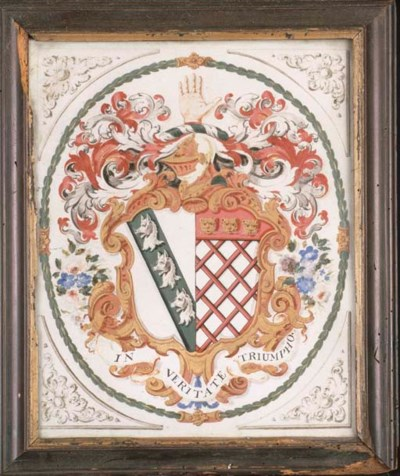 THE COAT-OF-ARMS OF THE MYDDEL