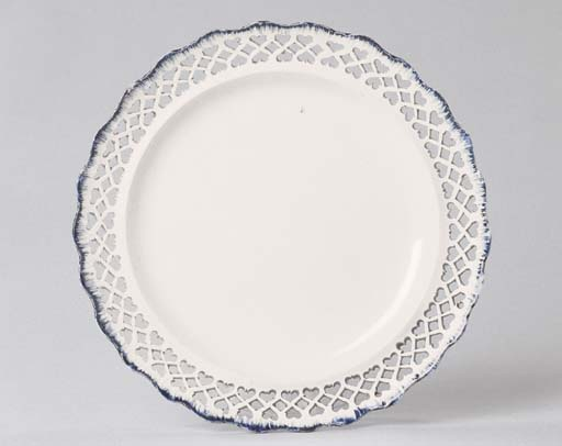 AN ENGLISH PEARLWARE PART DESS