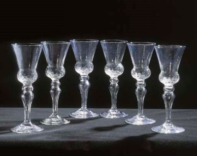 EIGHT GOBLETS