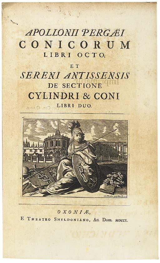 APOLLONIUS OF PERGA. Conicorum