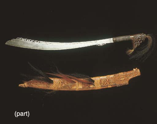 AN AFRICAN TRIBAL HARDWOOD AND