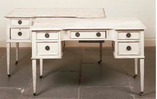 A LATE VICTORIAN WHITE-PAINTED