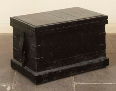 A REGENCY EBONISED AND MAHOGAN