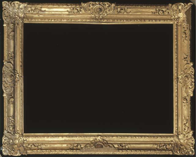 A GEORGE II GILTWOOD PICTURE F