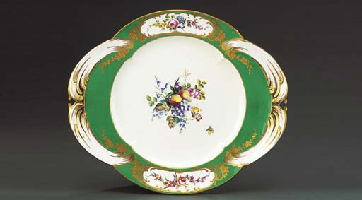 A SEVRES TUREEN-STAND