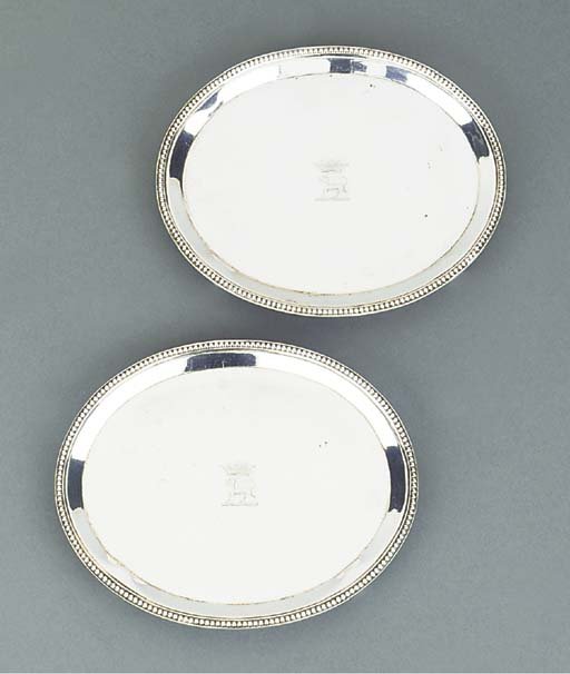 A PAIR OF VICTORIAN SILVER WAI
