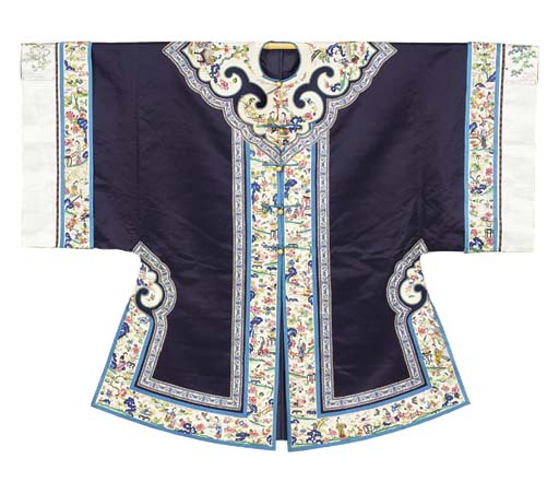 A CHINESE INFORMAL ROBE OF MID
