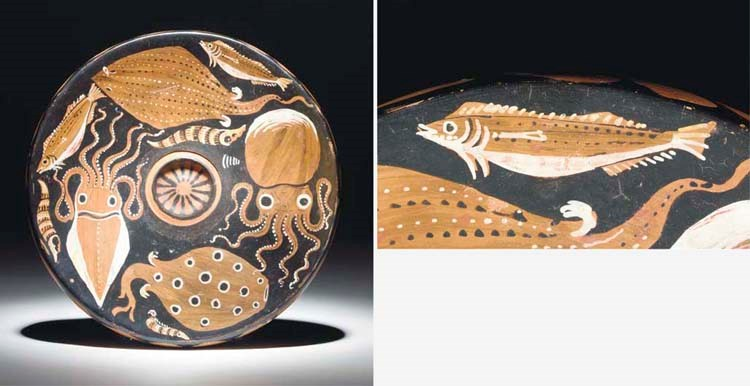 AN APULIAN RED-FIGURE FISH PLA