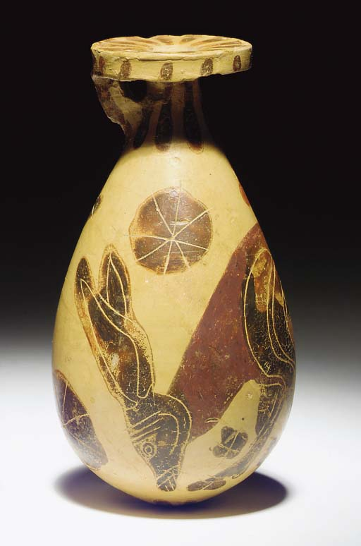 AN EARLY CORINTHIAN POTTERY AL