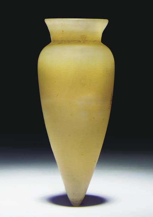 AN EGYPTIAN ALABASTER UNGUENT