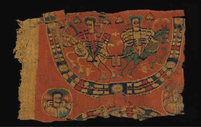 A COPTIC TEXTILE FRAGMENT WITH