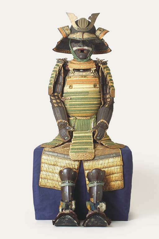 A Warabe Gusoku [armour for a