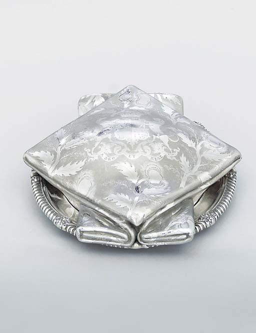 A Victorian silver trompe l'oe