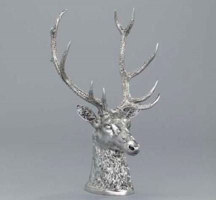 A Victorian large silver stirr
