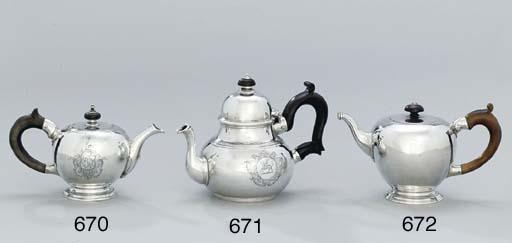 A George I provincial teapot