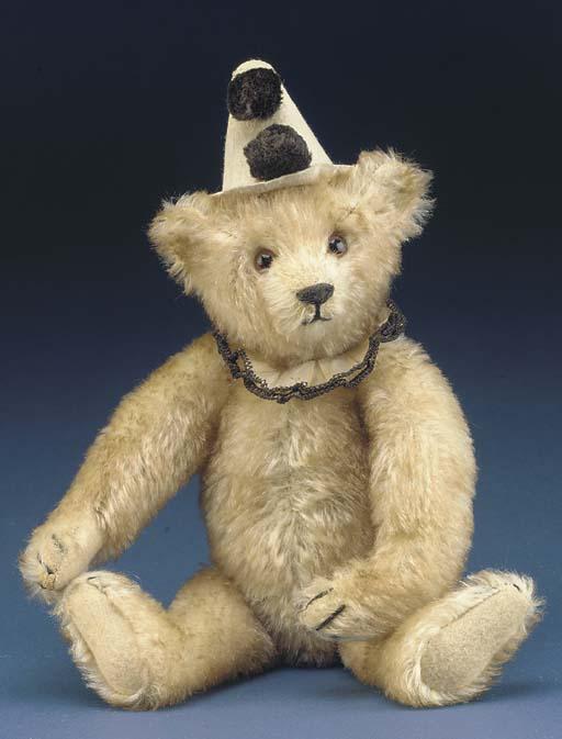 A rare Steiff Teddy Clown