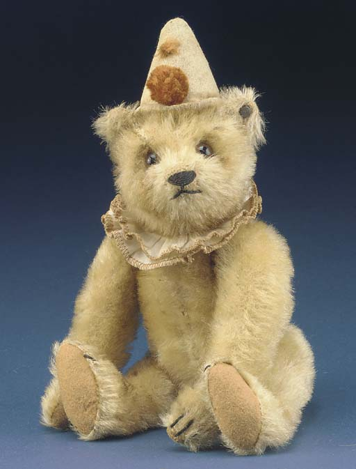 A rare Steiff teddy clown