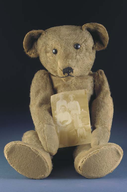 An early teddy bear