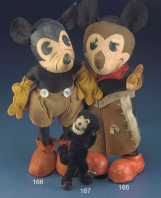 An early Mickey Mouse, probabl