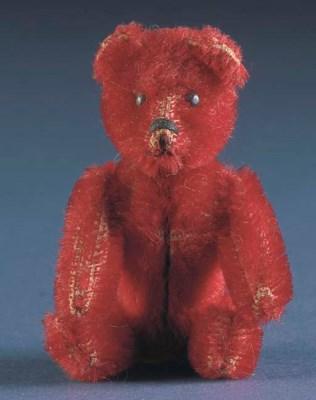 A rare Schuco miniature teddy
