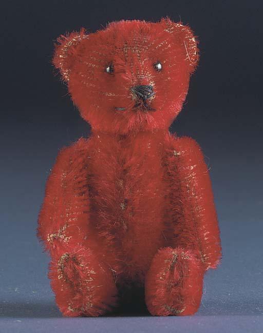 A rare Schuco teddy bear perfu