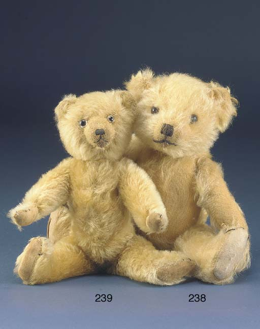 A small Farnell teddy bear