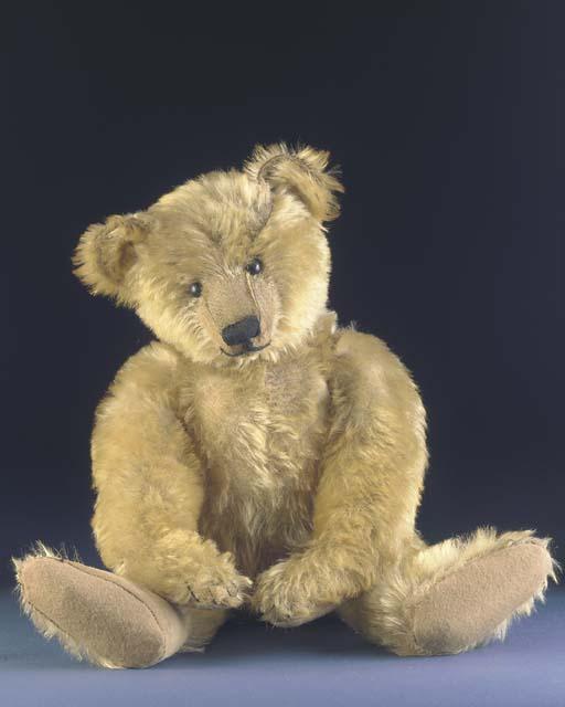 An early Bing teddy bear