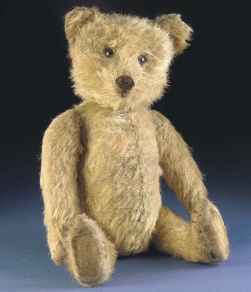 A rare Silberstein teddy bear