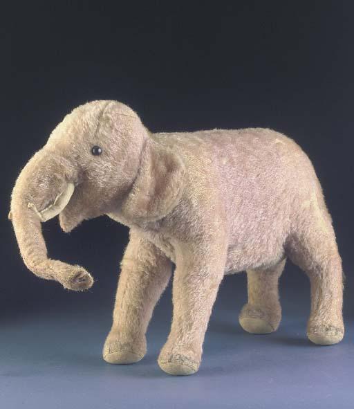 A rare Steiff elephant