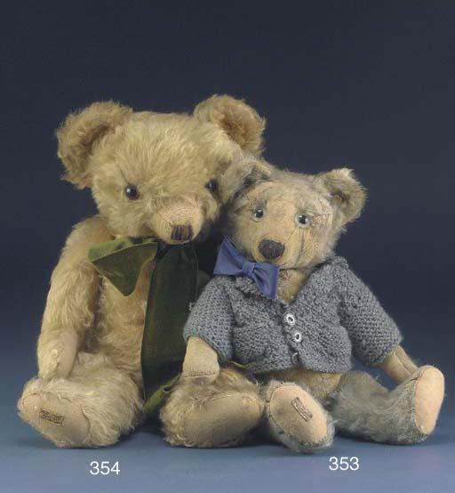 A Merrythought teddy bear