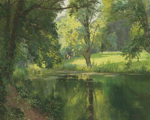 Henri Biva (French, 1848-1928)