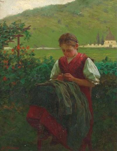 Theodore Kleehaas (German, 185