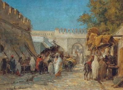 Victor Eeckhout (Belgian, 1821