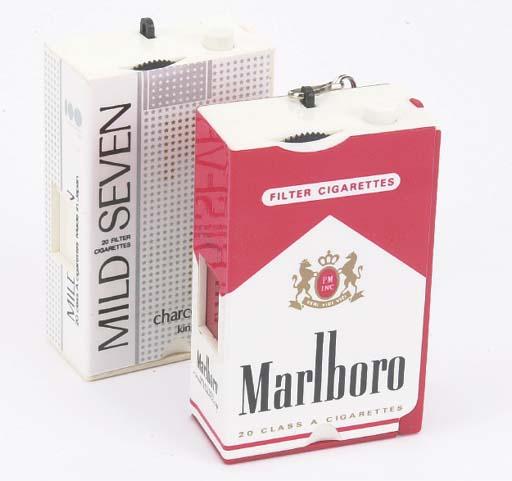 Cigarette carton cameras