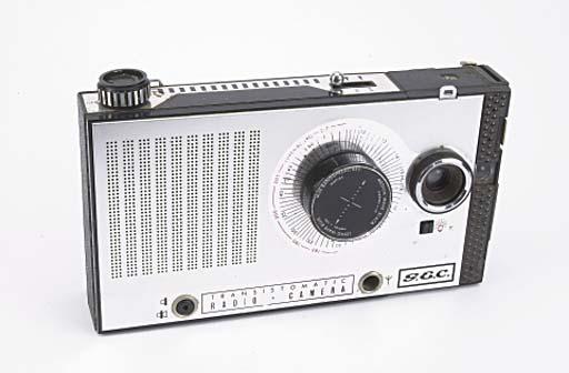 Transistomatic radio camera