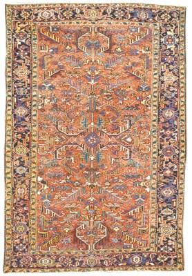 A fine Heriz carpet